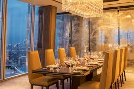 Dining Room Ideas In Private House by Aqua Shard Private Dining Decoration Home Interior