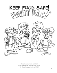 free printable beautiful food safety coloring pages coloring