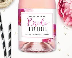 Bridesmaid Asking Gifts Custom Wine Labels Will You Be My Bridesmaid Wine Labels