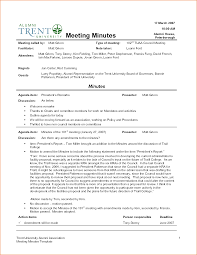 4 sample meeting minutes template teknoswitch