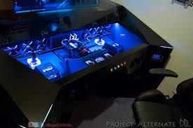 Custom Pc Desk Case 100 Custom Gaming Desks Best 25 Gaming Desk Ideas On
