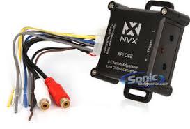 nvx xploc2 300w 150w ch 2 channel line output converter