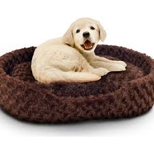 small pet beds petmaker holiday pet bed cuddle round plush pet bed walmart com