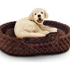 Extra Large Dog Igloo House Petmaker Holiday Pet Bed Cuddle Round Plush Pet Bed Walmart Com