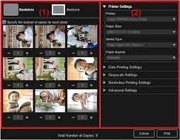 canon pixma manuals my image garden print settings dialog box