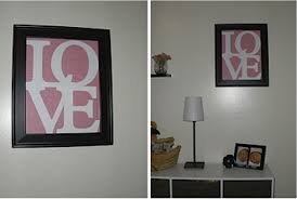 Pottery Barn Picture Frame Pottery Barn Pink Love Frame Diy Project