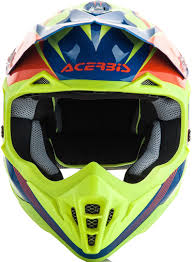 motocross protection gear acerbis impact 3 0 motocross helmet helmets offroad orange yellow
