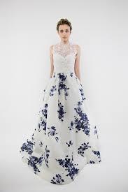 blue wedding dress designer 20 floral wedding dresses that will take your breath away chic