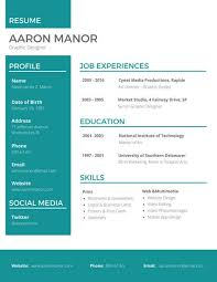 unique resume templates graphic designer resume templates by canva
