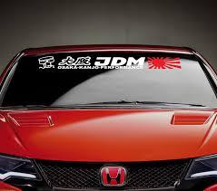 jdm honda sticker buy jdm culture logo honda rising sun accord civic type r s made
