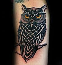 Owl Tattoos - 30 celtic owl designs for knot ink ideas