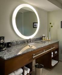 Lighted Vanity Mirrors Bathroom Best Lighted Makeup Mirror For Enchanting Vanity Mirror