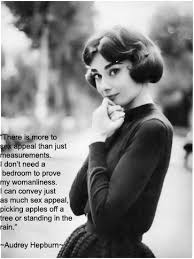 Sex Appeal Meme - there is more to sex appeal than just measurements audrey