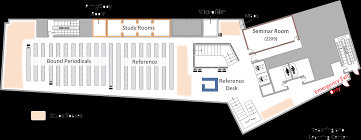 Floor Plan Lending Floor Plans Semans Library Unc Of The Arts
