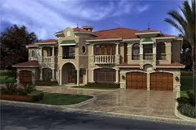 Luxurious House Plans Luxury Home With 7 Bdrms 7883 Sq Ft House Plan 107 1031