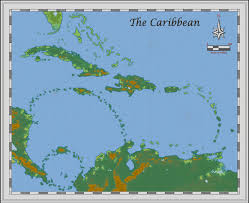 Caribbean Map by Profantasy Community Forum Fate Of The Sapphire Sea Caribbean