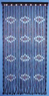 Pink Hanging Door Beads by Making Beaded Door Curtains Classy Door Design