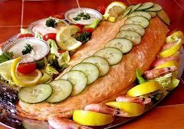 cuisiner le saumon saumon froid à la parisienne recettes cuisine française