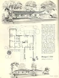 Up House Floor Plan by Vintage House Plans 1960s Efficient Floor Plans Up To 4 Bedrooms