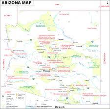 map of az arizona map of az beautiful world for world maps