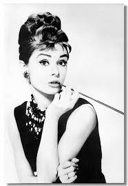 aliexpress com buy custom canvas wall mural audrey hepburn