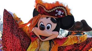 Mickey Mouse Costume Halloween Mickey Mouse Pirate Costume Halloween Disneyland Paris