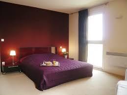 deco chambre prune chambre vert anis et marron