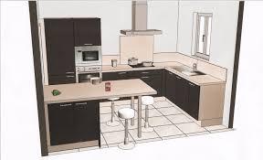 plans de cuisines ouvertes plan cuisine ouverte 6m2 idée de modèle de cuisine
