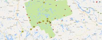 Algonquin Map Canoe Routes Where Should I Go Algonquin Outfitters Your