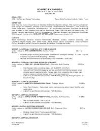 Electrical Engineering Resume Sample by Senior Electrical Design Engineer Resume