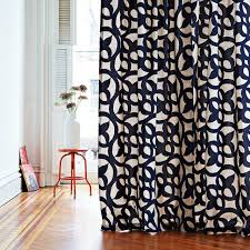 Navy And White Drapes Navy Curtain Panels Roselawnlutheran