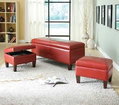 Red Bedroom Bench 153 Best Ottoman U0027s Images On Pinterest Ottomans Benches And