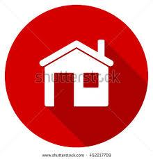 House Flat Design House Flat Design Modern Icon Long Stock Illustration 308960468