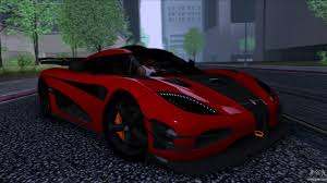 koenigsegg one 1 koenigsegg one 1 2014 for gta san andreas