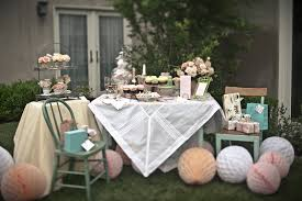 learn how to prepare awesome bridal shower tea party