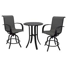 Sling Patio Dining Set - upc 769455768605 threshold camden 3 piece sling balcony height