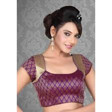 saree blouses indian readymade blouses leopard trim blouse