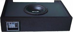 toyota tundra made in usa 10 single loaded and amplified sealed speaker box for toyota