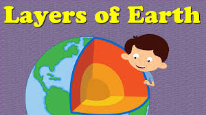 layers of the earth for kids youtube