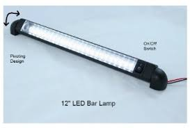 12v led light bar buy led bar light pivoting water resistant 12 l 12 volt dc
