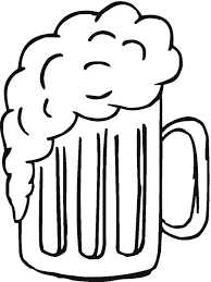 beer cartoon beer mug black and white clipart kid 3 cliparting com