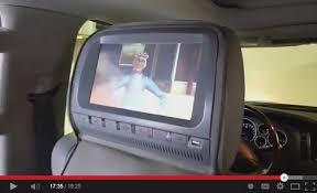 toyota highlander dvd headrest car headrest dvd player reviews