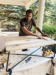 how to stain pine table black stain yes chris