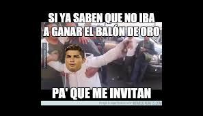 Memes De Lionel Messi - bal祿n de oro lionel messi cristiano y los memes por la
