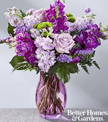 Lavender Bouquet The Ftd Sweet Devotion Bouquet By Better Homes And Gardens