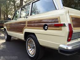 jeep wagoneer white 1986 jeep grand wagoneer grand wagoneer by classic gentleman