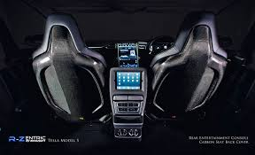 Tesla Carbon Fiber Interior R Zentric Products By Revozport