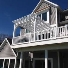 second floor decks elevated deck with 2nd floor attached pergola