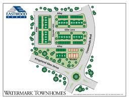 Watermark Floor Plan New Properties Watermark Townhomes Eastwood Homes