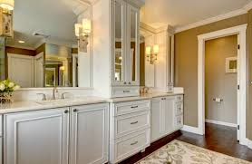 Classic White Bathroom Design And Ideas Great White Bathroom Designs With Classic Vanity And Wall